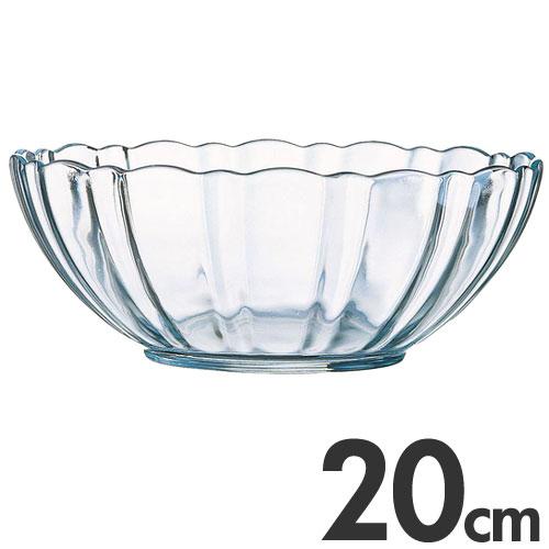 アルコロック Arcoroc【ガラス製】 アルカード サラダボール(サラダボウル) 20cm 43830