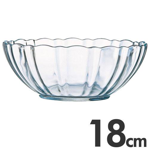 アルコロック Arcoroc【ガラス製】 アルカード サラダボール(サラダボウル) 18cm 00531