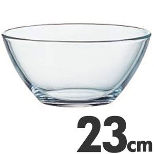 アルコロック Arcoroc【ガラス製】 コスモス サラダボール(サラダボウル) 23cm 00630(68145)