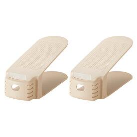 吉川国工業所 くつホルダー 2個セット(靴収納アイテム・靴ホルダー)