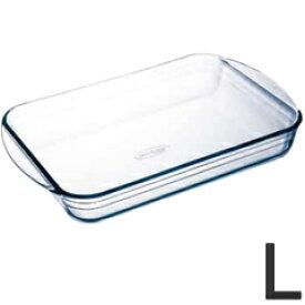 アルキュイジーヌ オーブンウェア 耐熱ガラス製 長方形プレート L 249BA
