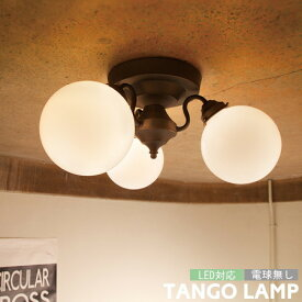 TANGO タンゴ 3灯 シーリングライト 天井 照明 レトロ リビング ダイニング カフェ LED対応 電球無し AW-0395 ARTWORKSTUDIO アートワークスタジオ