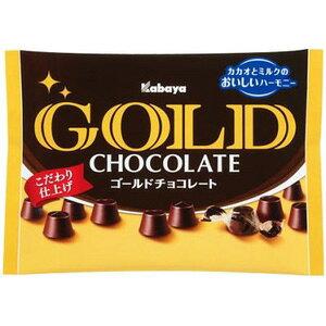 カバヤ食品 ゴールドチョコレート 183g×6入