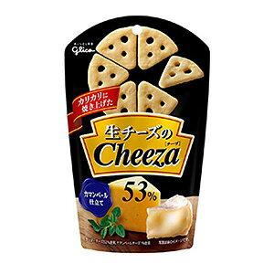 グリコ 生チーズのチーザ カマンベールチーズ 40g×10入