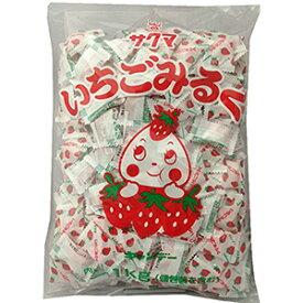 サクマ製菓 いちごみるくピロー 1kg×1袋から