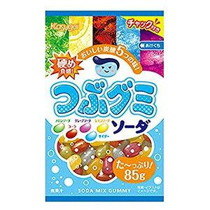 春日井製菓 つぶグミソーダ 85g×6入
