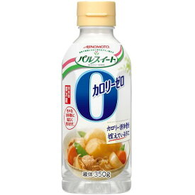 味の素 パルスイートカロリーゼロ・液体 350g×6入