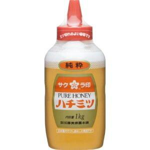 加藤美蜂園 サクラ印 純粋ハチミツ(ポリ) 1kg×1本から