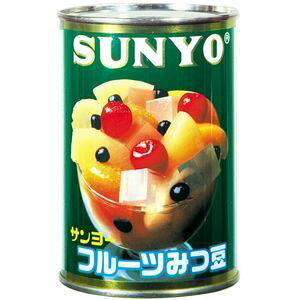 サンヨー堂 フルーツみつ豆 4号 425g×6入