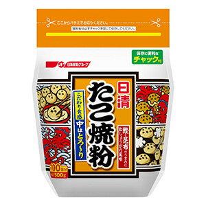 日清製粉 たこ焼粉 500g×6入