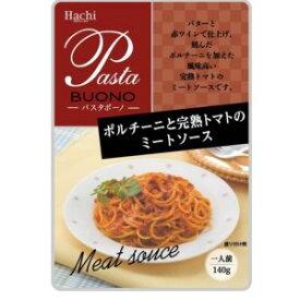 ハチ食品 ポルチーニと完熟トマトのミートソース 140g×12入