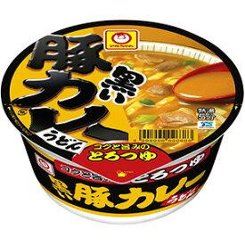 東洋水産 マルちゃん 黒い豚カレーうどん 87g×12入