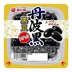 菊池食品 丹波黒豆国内産 140g×6入