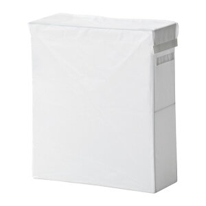 【IKEA Original】SKUBB -スクッブ- ランドリーバッグ スタンド付き ホワイト 隙間収納