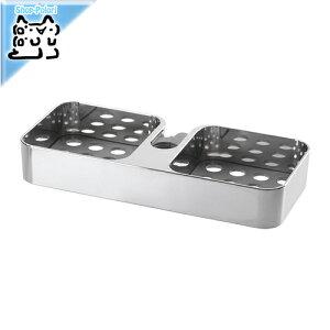 【IKEA Original】BROGRUND -ブログルンド- シャワーシェルフ クロムメッキ 25x4 cm