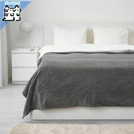 【IKEA Original】TRATTVIVA 掛け布団 ベッドカバー グレー ダブルサイズ 230x250 cm