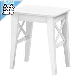 【IKEA Original】INGOLF -インゴルフ- スツール イス ホワイト 39x30x45 cm