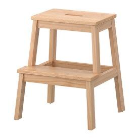【IKEA Original】BEKVAM -ベクヴェーム- ステップスツール アスペン無垢材 50 cm