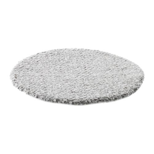 【IKEA Original】BERTIL 丸型 チェアパッド グレー