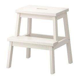 【IKEA Original】BEKVAM -ベクヴェーム- ステップスツール ホワイト 50 cm