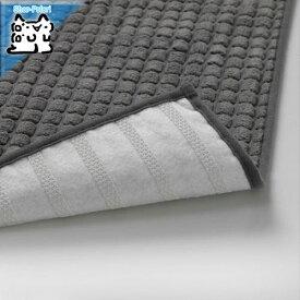 【IKEA Original】BRYNDUM -ブリンドゥム- キッチンマット グレー 45x180 cm