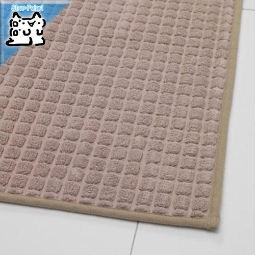 【IKEA Original】BRYNDUM キッチンマット ベージュ 45x180 cm