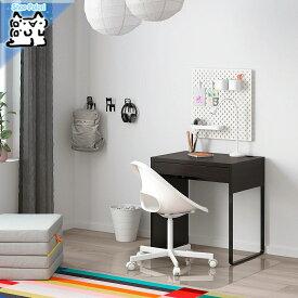 【IKEA Original】MICKE -ミッケ- デスク ブラックブラウン 73x50 cm
