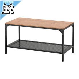 【IKEA Original】ikea テーブル FJALLBO コーヒーテーブル ブラック 90x46 cm