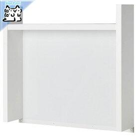 【IKEA Original】MICKE -ミッケ- 追加ユニット 高 ホワイト 73x65 cm