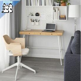 【IKEA Original】LILLASEN -リルオーセン- 机 デスク 竹 102x49 cm