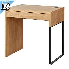 【IKEA Original】MICKE -ミッケ- デスク 机 オーク調 73x50 cm