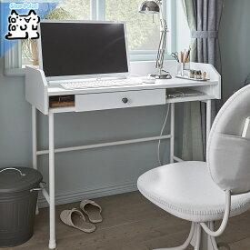 【IKEA Original】HAUGA -ハウガ- デスク ホワイト 100x84 cm