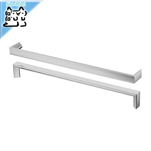 【IKEA Original】TYDA 取っ手 ステンレススチール 330 mm 2 ピース