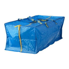 【IKEA Original】FRAKTA キャリーバッグ ボストンタイプ ブルーシートバッグ 76 l