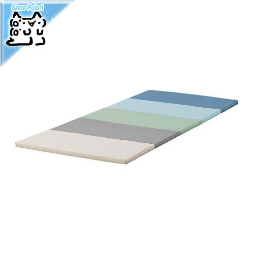 【IKEA Original】PLUFSIG 折りたたみ式ジムマット ブルー 78x185 cm