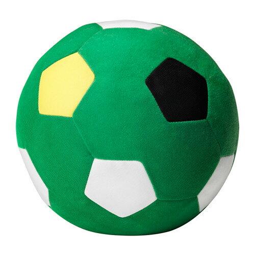 【IKEA Original】SPARKA ソフトトイ ぬいぐるみ サッカーボール グリーン 20cm