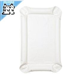 【IKEA Original】SKOTSAM ベビーケアマット ホワイト53x80x2 cm