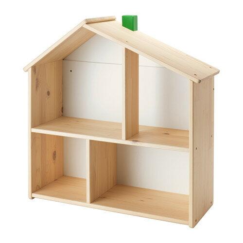 【IKEA Original】FLISAT ドールハウス/ウォールシェルフ 58 cm×59 cm