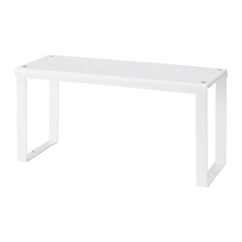 【IKEA Original】ikea キャビネット VARIERA シェルフインサート ホワイト 32x13x16 cm