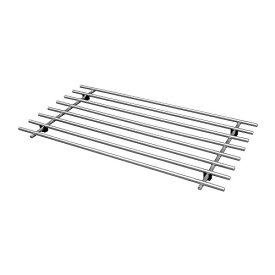 【IKEA Original】LAMPLIG ポットスタンド ステンレススチール 50x28 cm