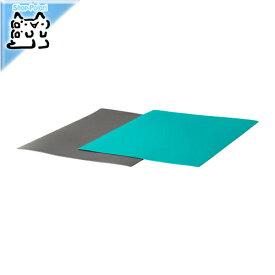 【IKEA Original】FINFORDELA まな板シート ダークグレー ダークターコイズ 28x36cm 2ピース