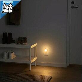 【IKEA Original】MORKRADD -モルクレッド- LEDナイトライト センサー式 ホワイト 2 ピース
