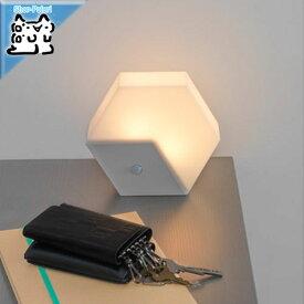 【IKEA Original】LILLPITE -リルピーテ- LEDナイトライト センサー式 電池式 ライトグレー