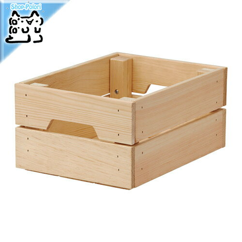【IKEA Original】KNAGGLIG ボックス パイン材 23x31x15cm