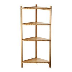 【IKEA Original】RAGRUND コーナー シェルフ ユニット 隙間収納 竹 34x99 cm