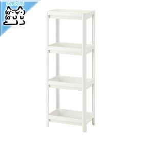 【IKEA Original】VESKEN シェルフユニット ホワイト 36x100 cm