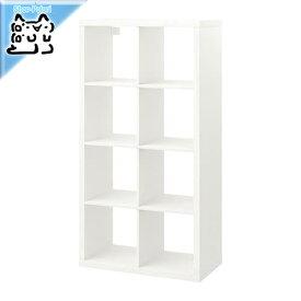 【IKEA Original】KALLAX -カラックス- シェルフユニット ホワイト 77x147 cm