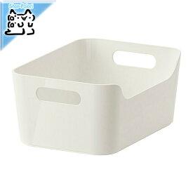 【IKEA Original】VARIERA -ヴァリエラ- ボックス ホワイト 24x17 cm 収納ボックス