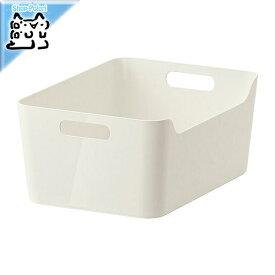 【IKEA Original】ikea キャビネット VARIERA ボックス ホワイト 34x24 cm 収納ボックス