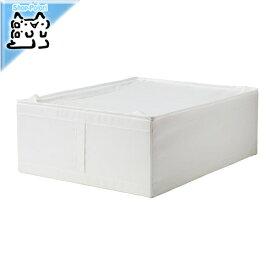 【IKEA Original】SKUBB -スクッブ- 収納ケース ホワイト 44×55×19 cm